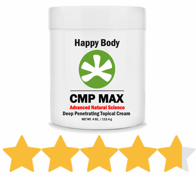 CMP MAX MSM CMO Pain Cream