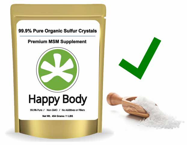 Organic Sulfur Benefits