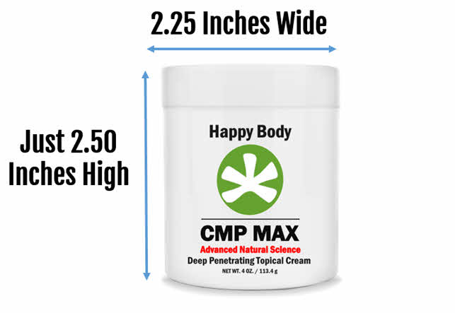 CMP MAX 4oz Slim Line Jar