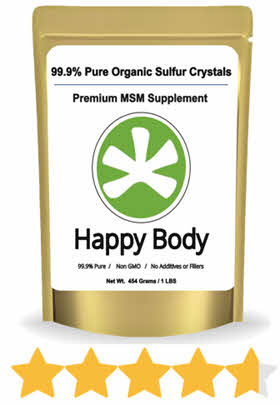 happy body organic sulfur reviews