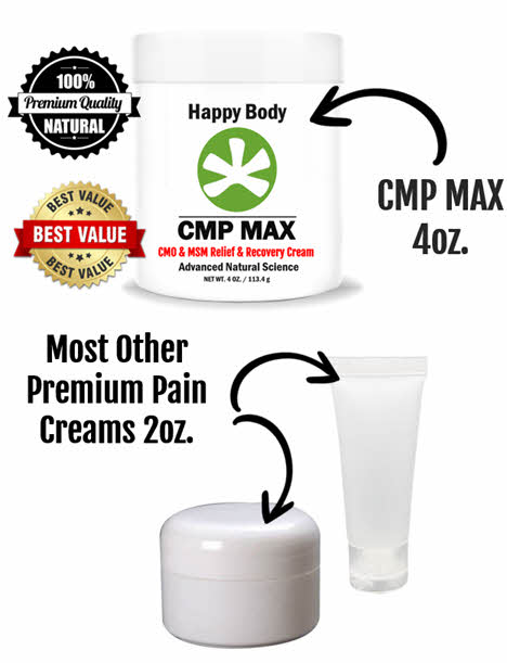 1/2 The Cost of Other Premium Pain Creams
