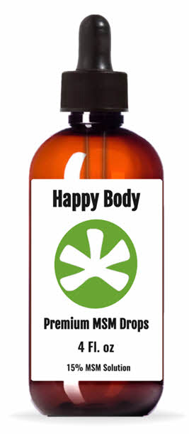MSM Drops By Happy Body
