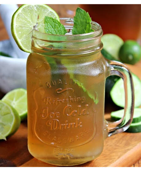 MSM, Green Tea Detox Drink