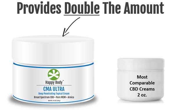 CMA Ultra Provides Double The Amount of Cream