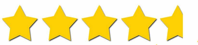 4.8 Star Ratings