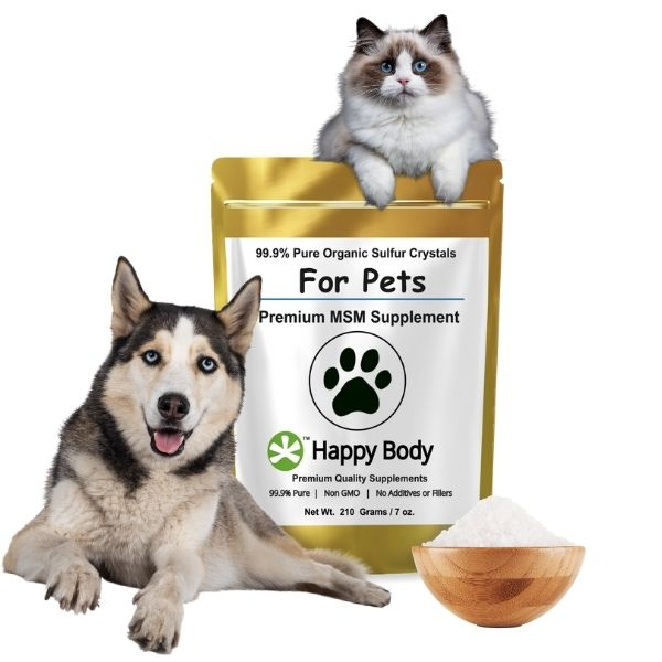 About Organic Sulfur - Pure MSM For Pets