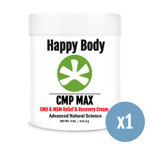 cmp max msm, cmo pain relief cream 1 pack
