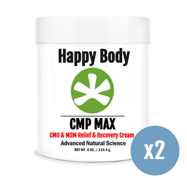 cmp max msm, cmo pain relief cream 2 pack