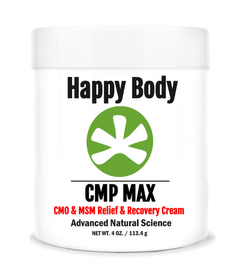 CMP MAX, MSM Pain Relief Cream