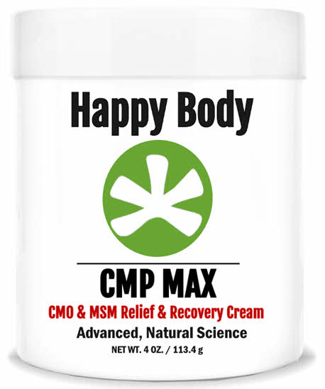 CMP MAX Relief Cream Made from MSM and CMO