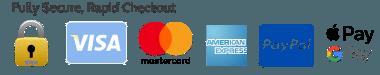 Safe, Secure Checkout & Payment Options