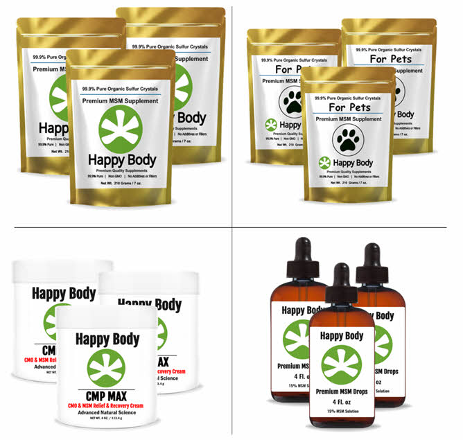 Happy Body MSM Products