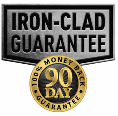All Orders Have Our Ironclad Guarantee of Satisfaction