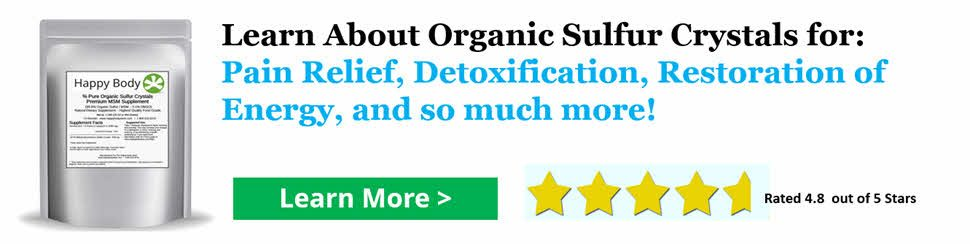 Learn More About Organic Sulfur
