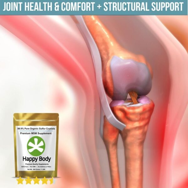 MSM For Joint Health and Comfort