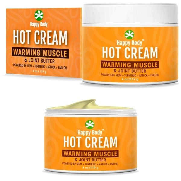 MSM Turmeric Hot Cream By Happy Body