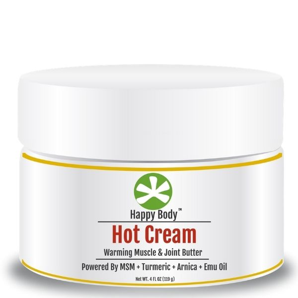 MSM Turmeric Hot Cream Main Image