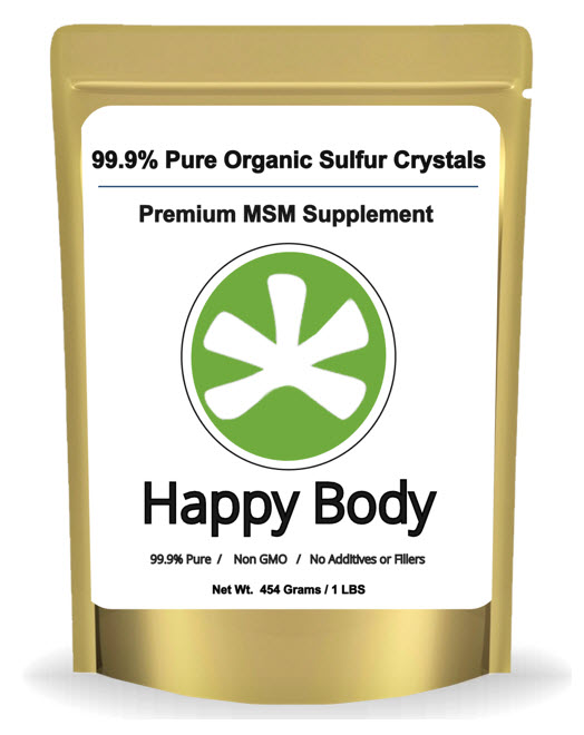 Happy Body Organic Sulfur