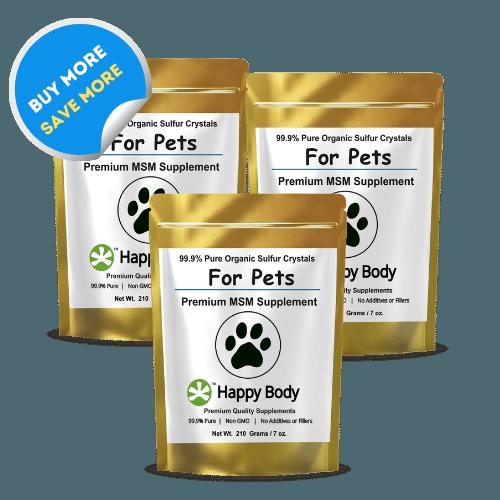 Organic Sulfur For Pets Multi Packs