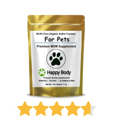 Shop MSM For Dogs, Cats, Horses & Other Pets