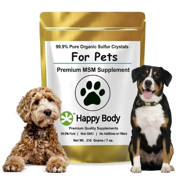 Organic Sulfur - Pure MSM _ For Dogs Cats Horses