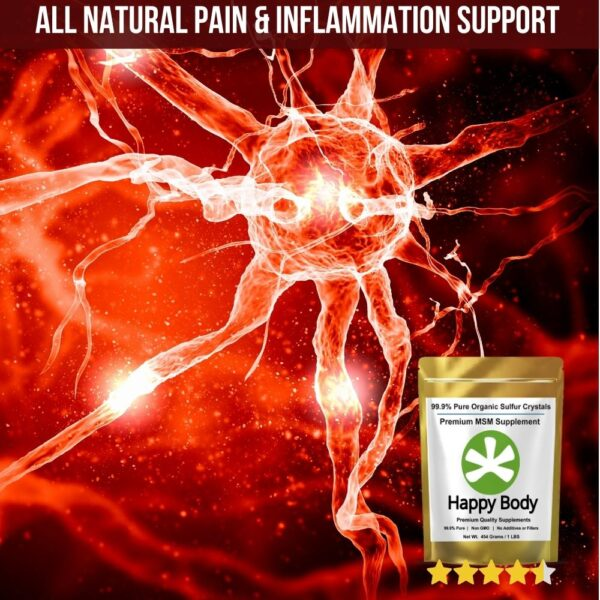Organic Sulfur for Inflammation and Pain