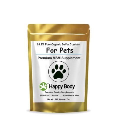 Organic Sulfur for dogs, cats and horses