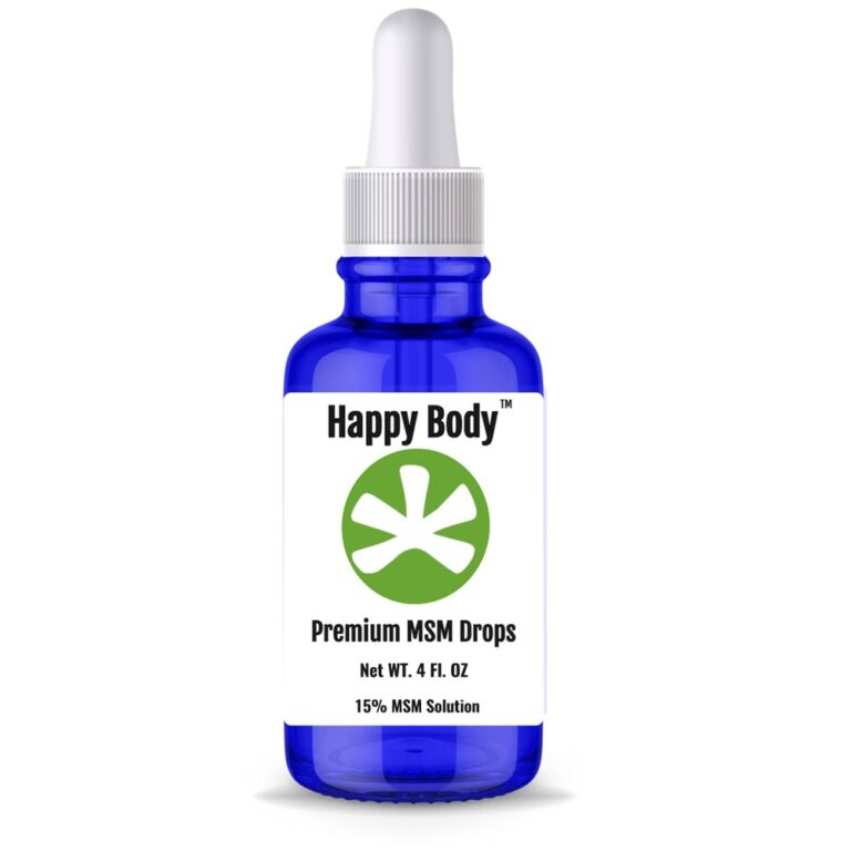 Pure, Liquid MSM Drops - 4 fl oz.