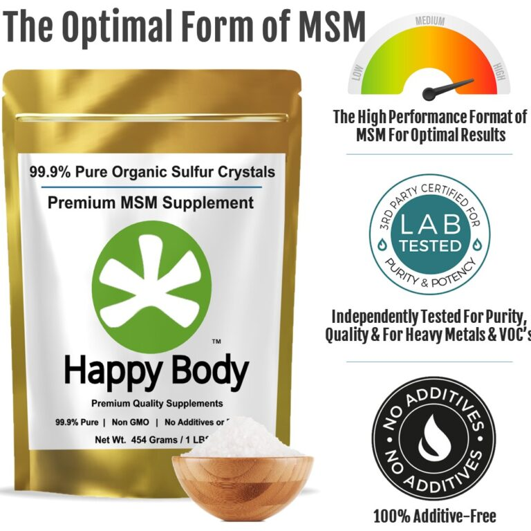 Organic Sulfur is the Optimal Form of MSM