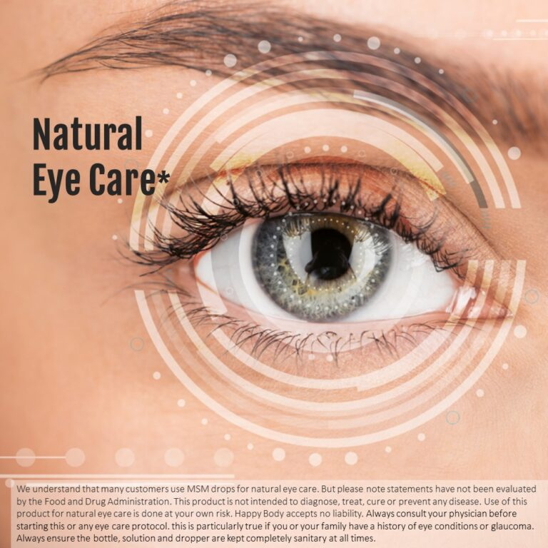 Use for Natural Eye Care