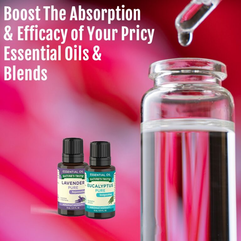 Use MSM Drops To Boost Absorption from Essential Oils