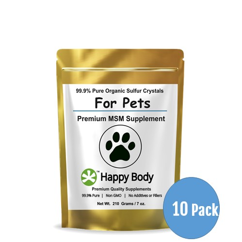 Multi Pack Organic Sulfur MSM For Pets 10 Pack 499x499