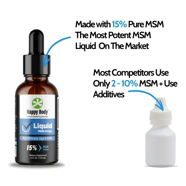 The Most Potent Liquid MSM Drops On The Market