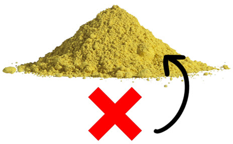 Inorganic Sulfur - Not Absorbed By The Body