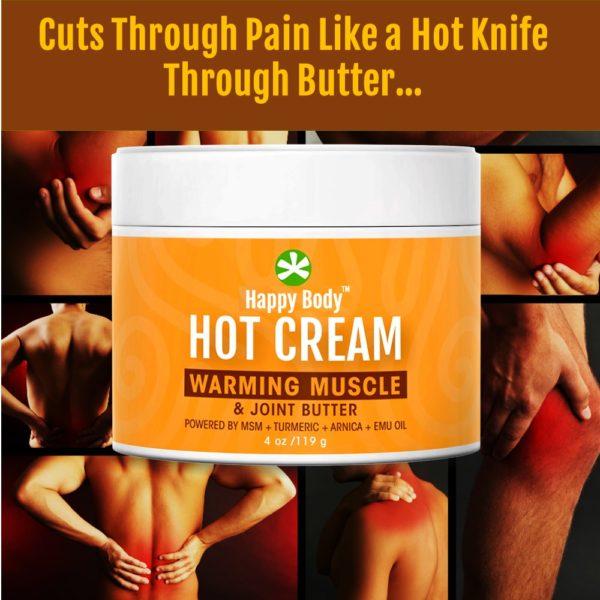 hot cream hot relief