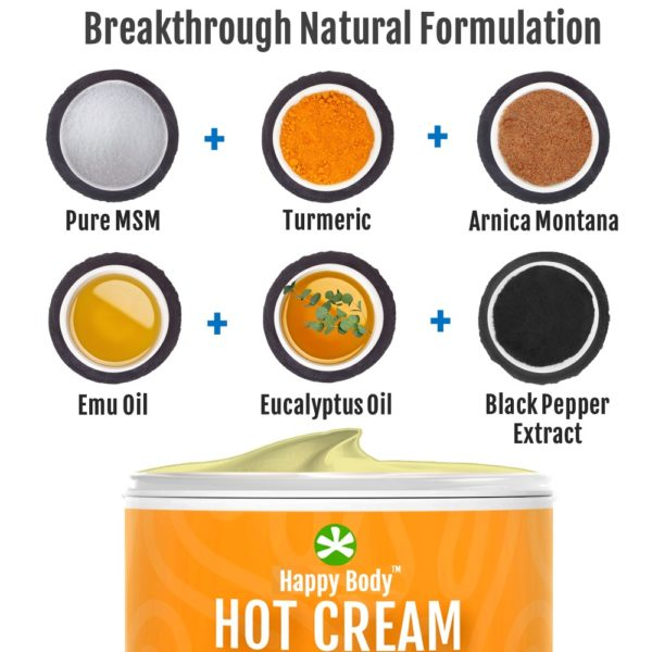 hot cream ingredients