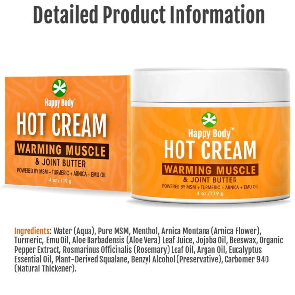 hot cream product info