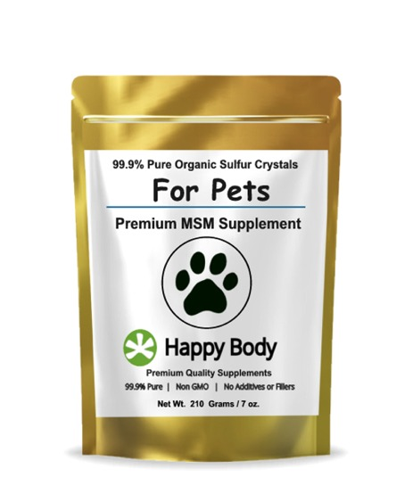 Organic Sulfur for Pets