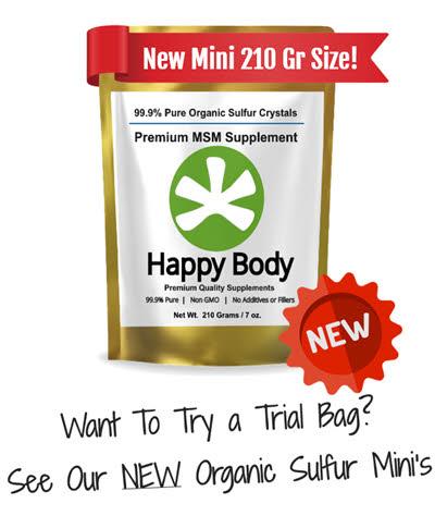 try new Organic Sulfur Minis